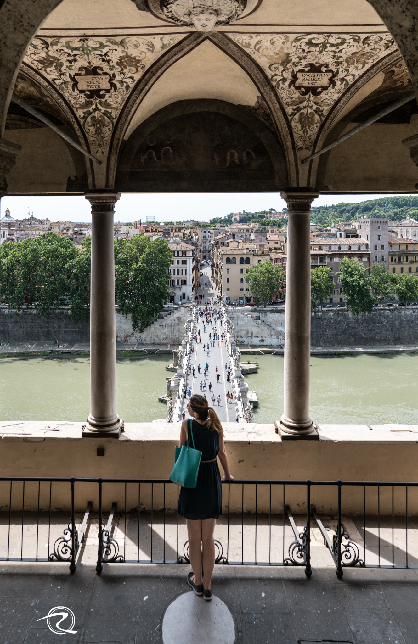 Castel St Angelo Bridge