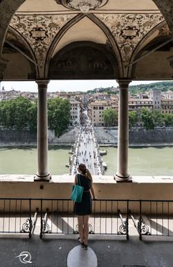 Castel St Angelo Bridge