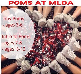 Poms Ages 3-12