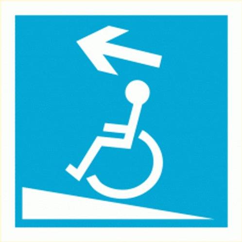 (70016) Rampa Ascendente Esquerda para Deficientes