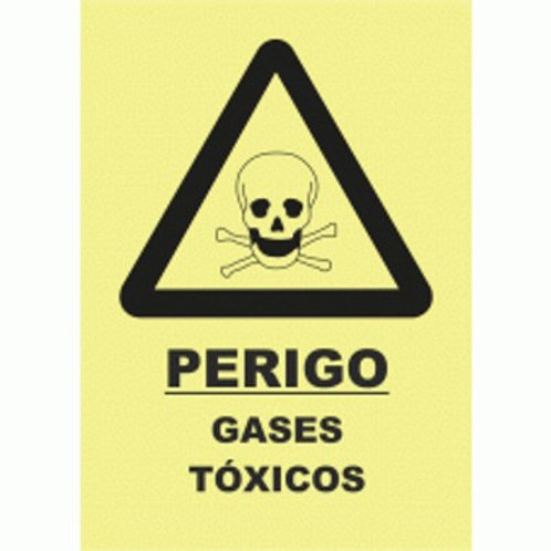 (30033) Perigo Gases Tóxicos