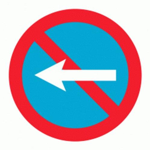 (70030) Estacionamento Proibido Esquerda