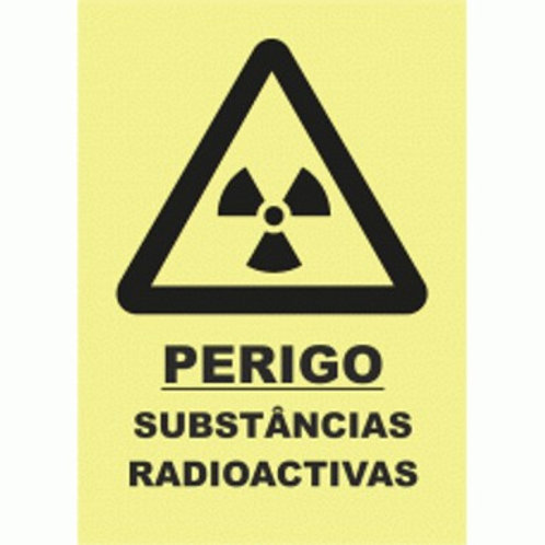 (30027) Perigo Substâncias Radioactivas