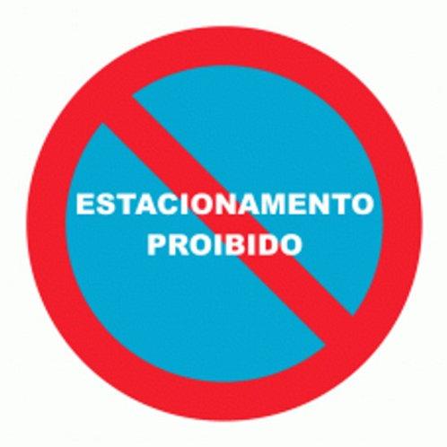 (70033) Estacionamento Proibido