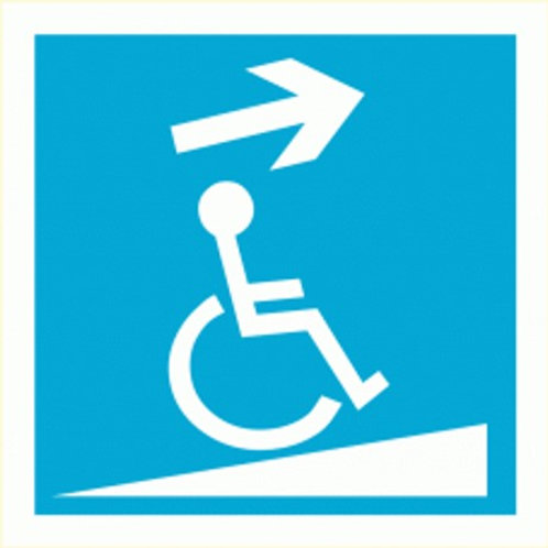 (70017) Rampa Ascendente Direita para Deficientes
