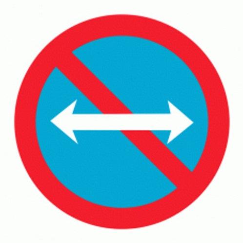 (70032) Estacionamento Proibido Ambas Direcções