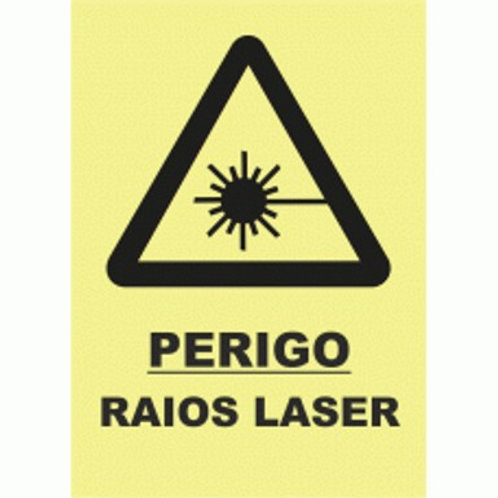 (30024) Perigo Raios Laser
