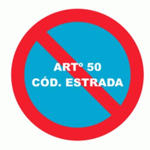 (70034) ARTº 50 cód. Estrada