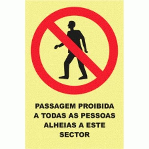 (20914) Passagem Proibida a Pessoas Alheias a Este Sector