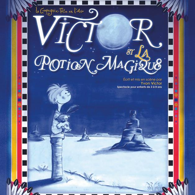 Victor et la potion magique cie tete en