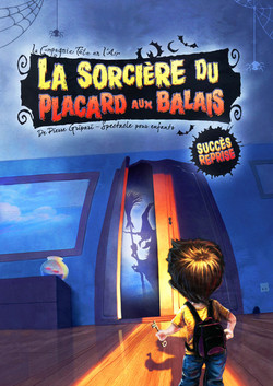 La sorcière du placard aux balais - spectacle enfant - paris