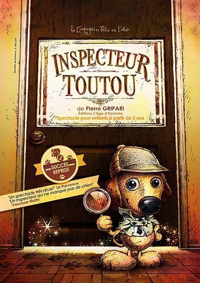 Inspecteur Toutou Spectacle enfants Paris Gripari succes