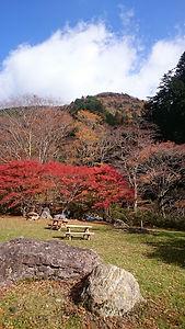 小田深山キャンプ場(秋)