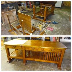 Kitchen work table resized