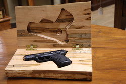 Gun box open