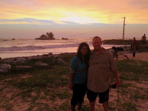 Sri Lanka is the beautiful island where I was born