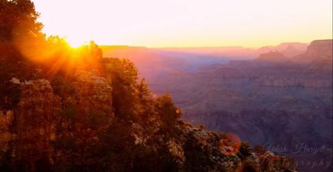 Udeshi Hargett Photography - Sunset in the Grand Canyon North Rim, Arizona