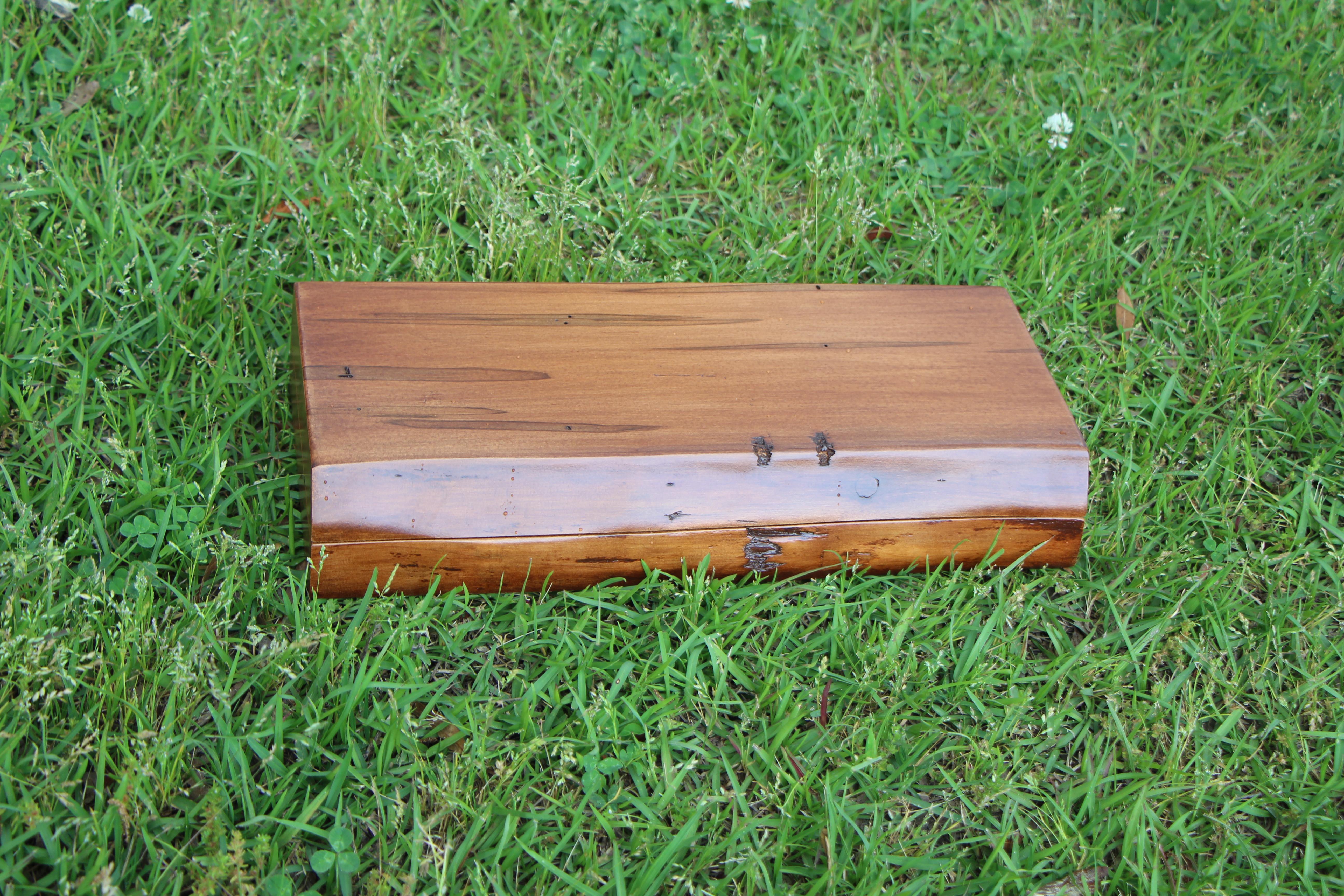 Custom built gun box closed