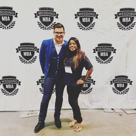 Wedding Industry Experts Udeshi Hargett with David Tutera in Las Vegas