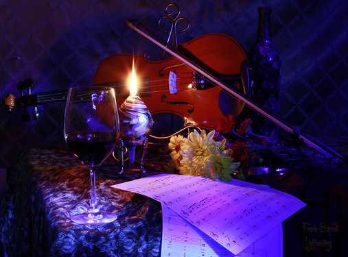 violin-with-wine-and-oil-lamp-frank-schm