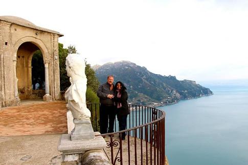 Udeshi and Mark Hargett. AmalfiCoast, Italy