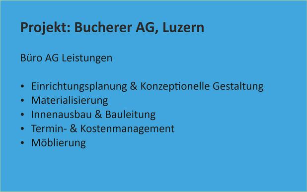 BUAG Projektreferenz Bucherer