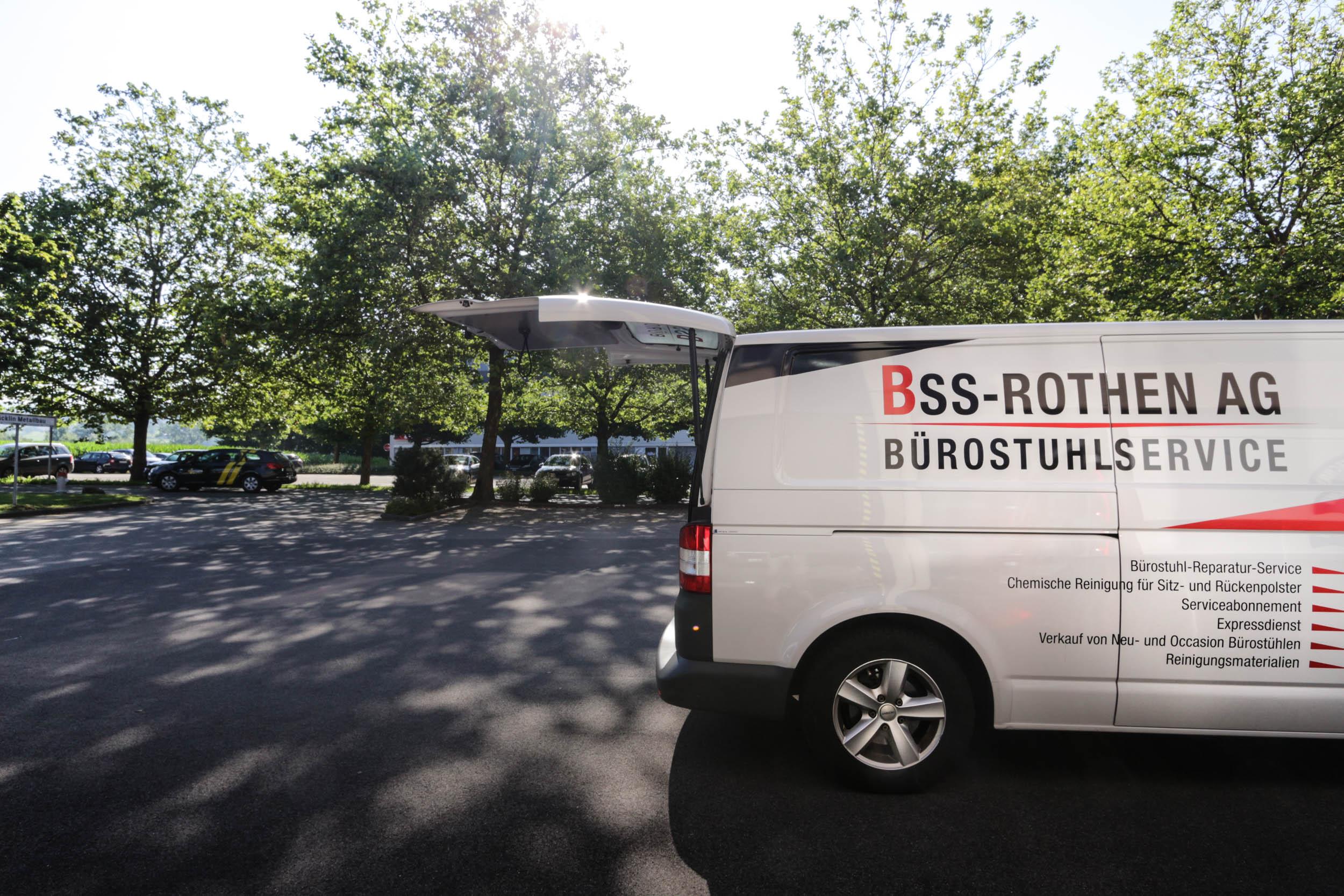 BSS-Rothen AG - mobile Werkstatt