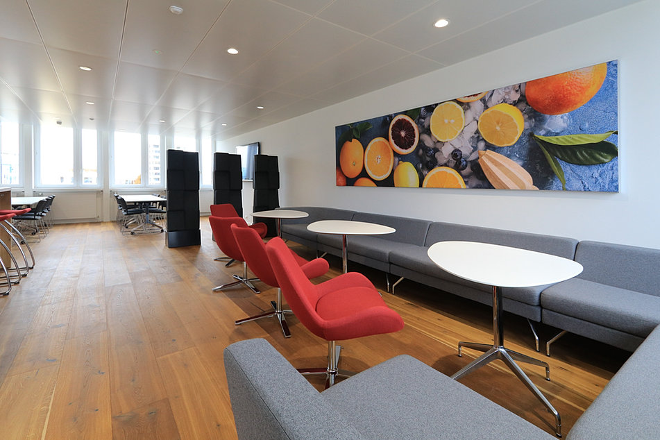 Büro AG Akustik Optimierung im Büro