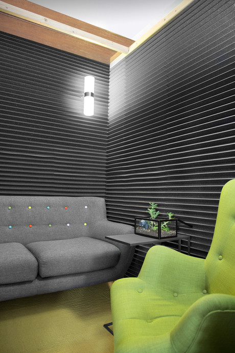 Commercial interior architecture for Hippo Insurance in Mountain View by Dana Ben Shushan at Dana Design Studio