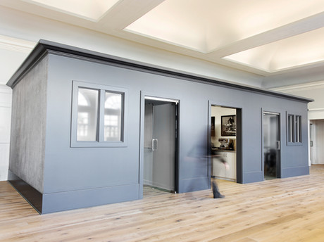Commercial interior architecture for Eclipse offices by Dana Ben Shushan at Dana Design Studio