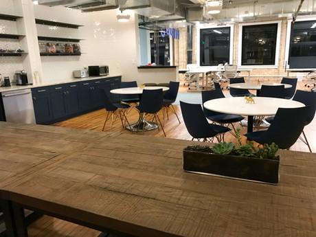 Commercial interior architecture for Hippo Insurance in Austin by Dana Ben Shushan at Dana Design Studio