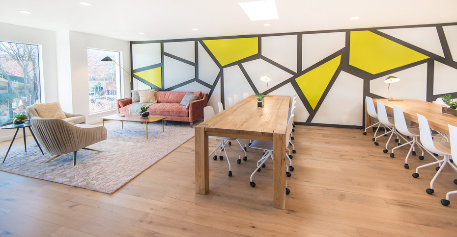 Commercial interior architecture for We Act offices by Dana Ben Shushan at Dana Design Studio