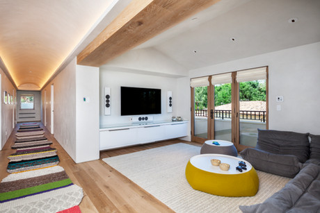 Residential Interior Architecture for Los Altos Hills private home by Dana Ben Shushan at Dana Design Studio