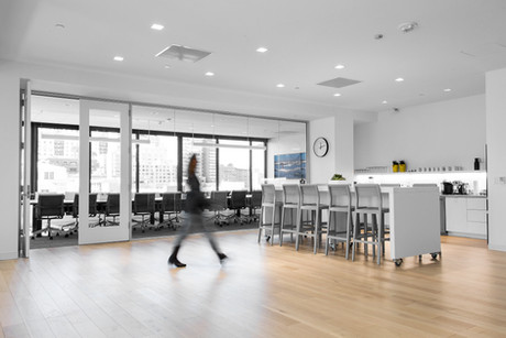 Commercial interior architecture for Glynn Capital by Dana Ben Shushan at Dana Design Studio
