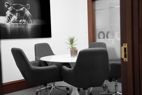 Commercial interior architecture for Hippo Insurance in Mounatin View by Dana Ben Shushan at Dana Design Studio