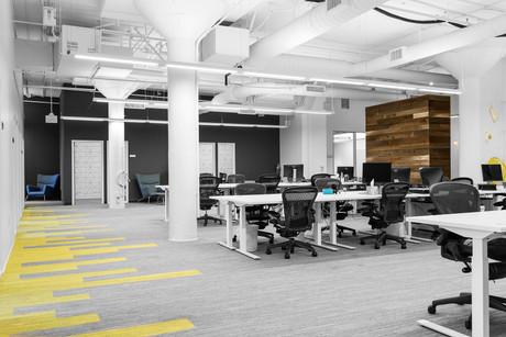 Commercial interior architecture for Puls in Palo Alto by Dana Ben Shushan at Dana Design Studio