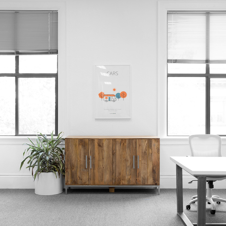 Interior design for Cyber Jack offices (now rebranded as At-Bay) by interior designer Dana Ben Shushan, Dana Design Studio
