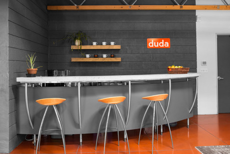 Commercial interior architecture for Duda in Palo Alto by Dana Ben Shushan at Dana Design Studio