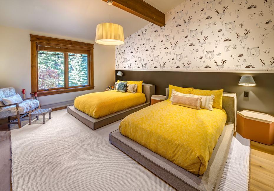 Residential Interior Architecture for Martis Camp home in Tahoe by Dana Ben Shushan at Dana Design Studio