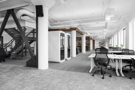Commercial interior architecture for HealthTap by Dana Ben Shushan at Dana Design Studio