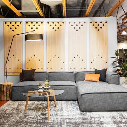 Interior design for Duda offices in Palo Alto by interior designer Dana Ben Shushan, Dana Design Studio