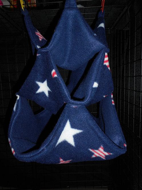 Red/White/Blue Stars SM Bunker Hammock
