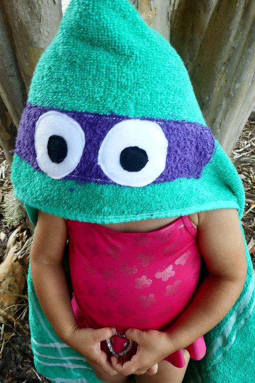 Donnie, Ninja Turtles Towel