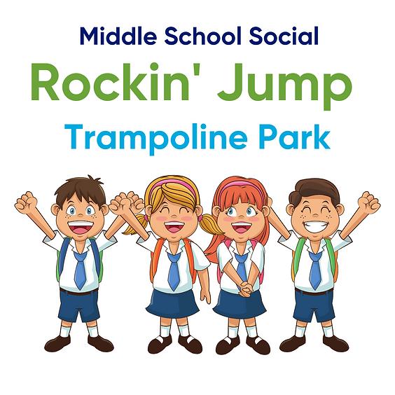 Middle School Social   Rockin' Jump