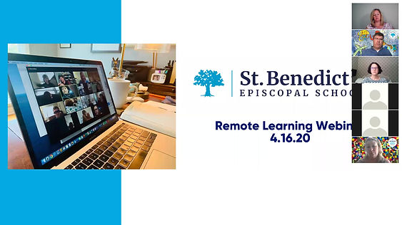 St. B's Remote Learning Webinar