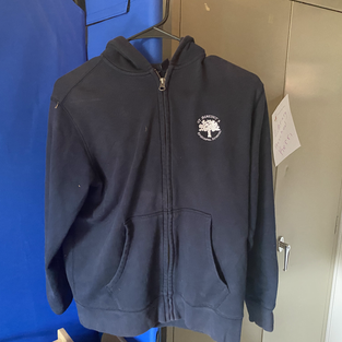 Zip-up hoodies (sizes L, XL)