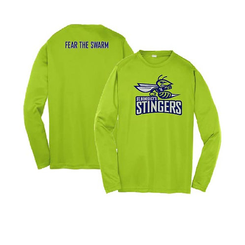 Dry Fit Long Sleeved Stinger Tee - Youth