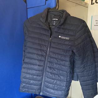 Kids puffy jacket (M, L)