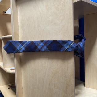 Boys chapel tie