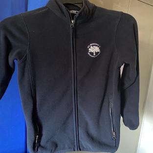 Zipper fleece (1 small, 1 large, 1 XS, 2 medium)
